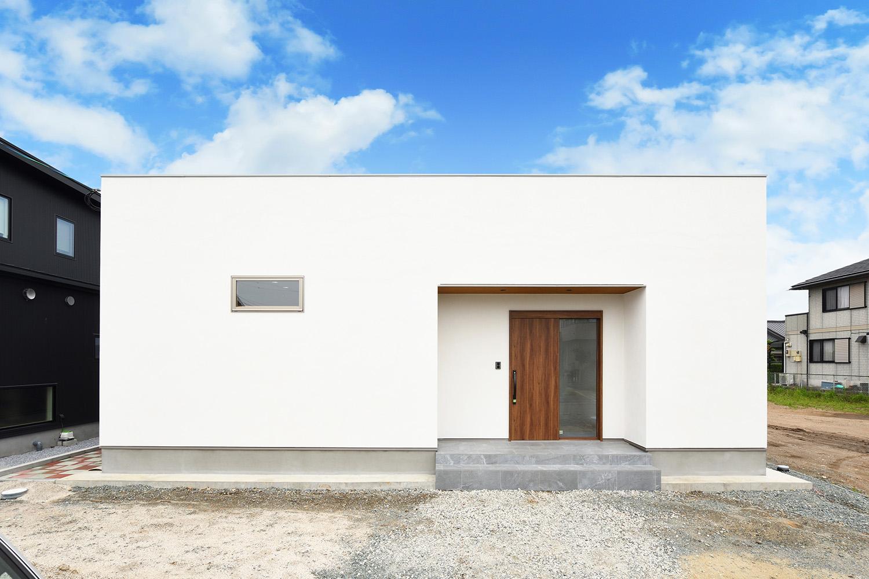 シンプルな平屋のお家